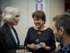 Marie-Pierre Pruvot (Bambi) reçoit les insignes de Chevalier dans l'ordre national du Mérite des mains de Madame la ministre Roselyne Bachelot le 24 novembre 2014 (c) Pierre Alivon