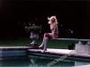 Marie-Pierre Pruvot (Bambi) - Sur un plongeoir