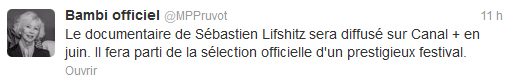 Twitter de Marie-Pierre Pruvot (Bambi) - @MPPruvot