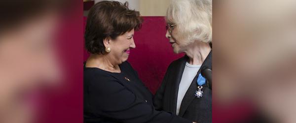 Chevalier dans l'ordre national du Mérite Bambi (Marie-Pierre Pruvot) par Roselyne Bachelot