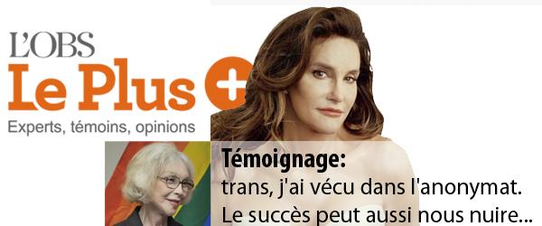 Le Plus du Nouvel OBS Témoignage Caitlyn Jenner - Marie-Pierre Pruvot (Bambi)