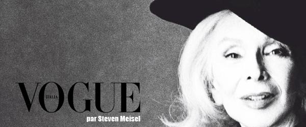 Vogue Italia par Steven Meisel - Marie-Pierre Pruvot (Bambi)