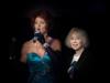 Marie-Pierre Pruvot (Bambi) avec Charlène Duval au Meeting LGBT pour l'égalité (Folies Bergère)