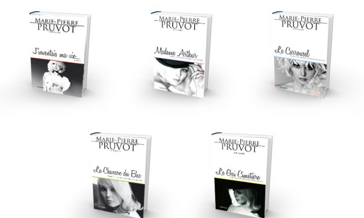 "5 tomes de ""j'inventais ma vie..."" de Marie-Pierre Pruvot (Bambi)"
