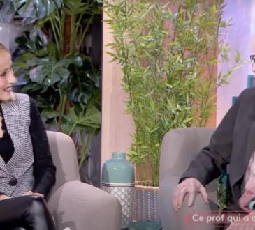 Marie-Pierre Pruvot (Bambi) - Ça se passe aujourd'hui (France 2) - Ce prof qui a changé ma vie